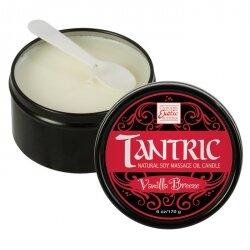 Массажная свеча с феромонами - аромат ванили TANTRIC VANILLA BREEZE, 170 гр