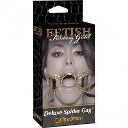 Расширитель для рта Deluxe Spider Gag, золотой