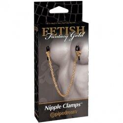 Зажимы с цепочкой на соски Nipple Chain Clamps
