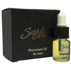 Концентрат феромонов для мужчин Sexy life 50%, 5 мл