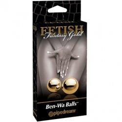 Элегантные вагинальные шарики Gold Ben Wa Balls
