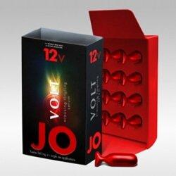 Возбуждающая сыворотка мощного действия JO Volt 12 VOLT, 12 капсул