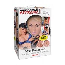 Кукла надувная PDX Dollz - Miss Demeanor, 3D модель лица