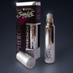 Духи с феромонами SexyLife № 12 Lacoste Challenge, мужские, 10 мл