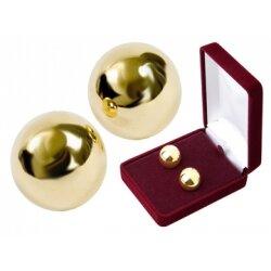 Шарики вагинальные малого диаметра, без сцепки, утяжеленные, в подарочной упаковке