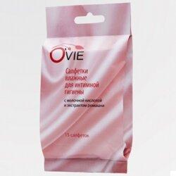 Ovie влажные салфетки, пропитанные молочной кислотой, ромашка