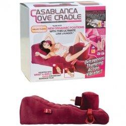 Надувная секс-кровать с фаллоимитатором Tonga Casablanca Love Cradle