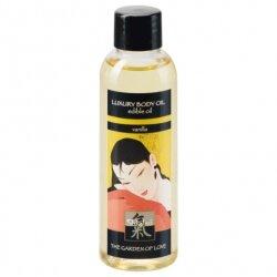 Съедобное масло Luxury Body Oil Vanilla с ароматом ванили, 100 мл