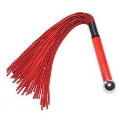 Красная замшевая плеть Sensua от LELO