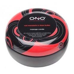 Массажная свеча ONO с ароматом красного мандарина