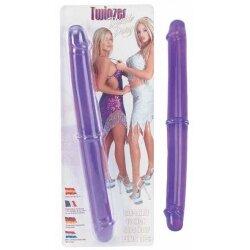 Двухсторониий фаллоимитатор Twinzer Double Dong, 32 см
